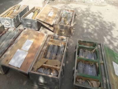 ایف سی کی ژوب کے علاقے سمبازہ میں کامیاب کارروائی، کالعدم تنظیم کے ٹھکانے سے بھاری مقدار میں اسلحہ و گولہ بارود برآمد