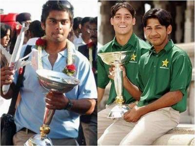 انڈر 19 ورلڈ کپ کے فاتح کپتان سرفراز اور کوہلی مدمقابل، قومی ٹیم عالمی کپ میں بھارت کو ہرا چکی ہے