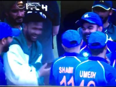 فائنل میچ کے بعد بھارتی اورپاکستانی کھلاڑی ایک ہو گئے ، ویڈیو نے سب کو حیران کر دیا