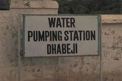 کراچی، دھابیجی پمپنگ سٹیشن پربجلی کابریک ڈاﺅن