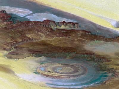 صحرا کی آنکھ، وہ معمہ جسے سائنس آج تک حل نہ کرسکی، سائنسدان بے بس