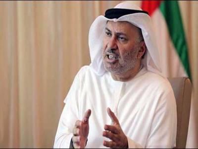 قطر کی تنہائی کئی سال تک جار ی رہ سکتی ہے، وزیر مملکت برائے امور خارجہ متحدہ عرب امارات انور قرقاش