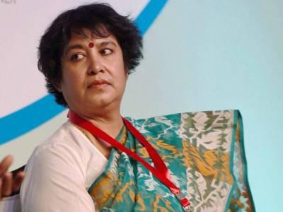 مودی سرکار نے گستاخ مصنفہ تسلیمہ نسرین کے ویزہ میں ایک سال کی توسیع کر دی