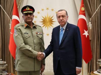 آرمی چیف جنرل قمرجاوید باجوہ کی ترک صدر سے ملاقات،پاکستان اور ترکی ایک دوسرے پر غیر مشروط اعتماد کرسکتے ہیں: طیب اردگان