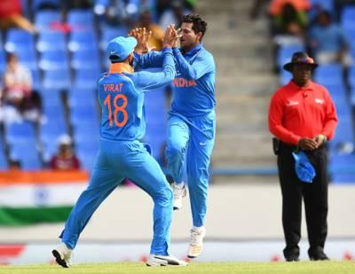 بھارت نے تیسرے ون ڈے میں ویسٹ انڈیز کو 93 رنز سے شکست دیدی، سیریز میں 0-2 کی برتری