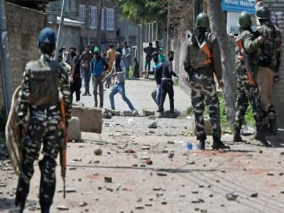 مقبوضہ کشمیر میں بھارتی فوج کی ریاستی دہشت گردی،4نوجوان شہید ، خاتون سمیت14زخمی