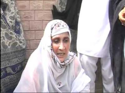 جمشید دستی کی بہن نے وزیراعظم ہاؤس کے باہر خودسوزی کی دھمکی دے دی