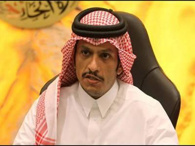 عرب ممالک کے مطالبات مسترد ،سعودی اتحاد کاالٹی میٹم دہشت گردی کے خلاف نہیں , دوحہ کو تنہا کرنے کا اقدام ہے: قطری وزیر خارجہ
