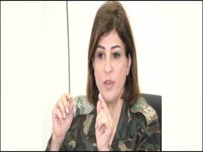 شامی فوج میں پہلی بار بریگیڈئر جنرل کے عہدے پر خاتون کو تعینات کردیا گیا
