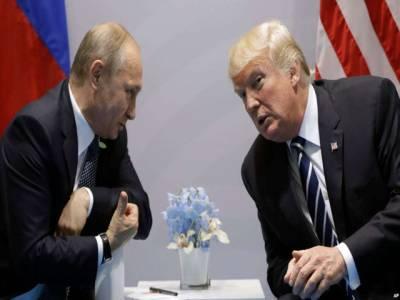 ٹرمپ اور پیوٹن کے درمیان ملاقات، اپنے روسی ہم منصب کے ساتھ بہت سی باتوں پر گفتگو ہوئی: امریکی صدر