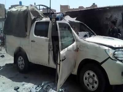 چمن میں لیویز ہیڈ کوارٹرز کے قریب خودکش حملہ، ڈی پی او اپنے گن مین سمیت شہید ،متعدد افراد زخمی