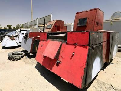 موصل سے داعش کی تیار کردہ درجنوں بلٹ پروف گاڑیاں برآمد، یہ کیسے اور کس چیز سے تیار کی گئی ہیں؟ جان کر یقین کرنا مشکل ہوجائے