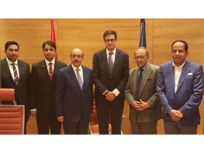 صدر آزاد کشمیر سردار مسعود خان کی سوشلسٹ پارٹی سپین کے سینیٹر سے ملاقات،بھارتی مظالم سے آگاہ کیا