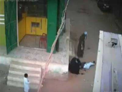 مصر ،سنگدل باپ نے بیٹے کو گولیوں سے بھون ڈالا