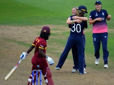 ویمن کرکٹ ورلڈ کپ ،انگلینڈ نے ویسٹ انڈیز کو 92رنز سے شکست دیدی