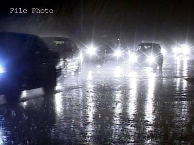 سبی اور گردونواح میں موسلا دھار بارش،کئی مکانوں کی دیواریں گر گئیں