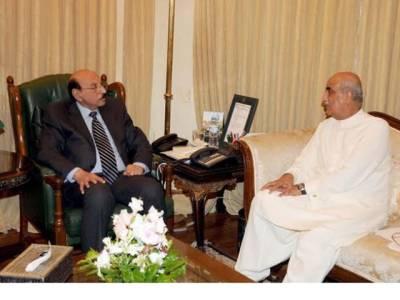 خورشید شاہ اور قائم علی شاہ کی اہم بیٹھک، پاناما سمیت ملکی سیاسی صورتحال پر غور