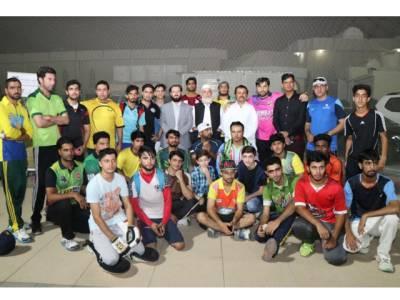 دبئی میں مردان کرکٹ اکیڈمی کا قیام عمل میں آگیا