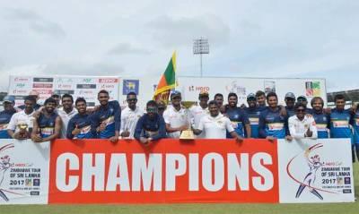 سری لنکا نے زمبابوے کو واحد ٹیسٹ میچ میں 4وکٹوں سے شکست دے کر تاریخ رقم کر دی