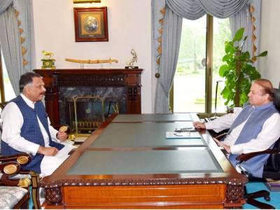 وزیر اعظم پاکستان سےاعجاز الحق کی ملاقات، ملکی سیاسی صورت حال پر تبادلہ خیال