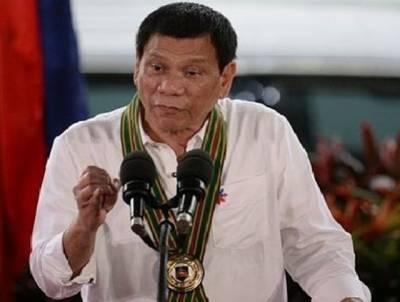 """""""اپنے عہد میں کبھی امریکا نہیں جاﺅنگا """"، فلپائن کے صدر نے ڈونلڈ ٹرمپ کی دعوت مسترد کر دی"""