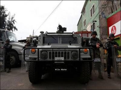 میکسیکو ، منشیات کے مشتبہ سمگلروں اور فوجی دستوں کے درمیان جھڑپ ، 8افراد ہلاک