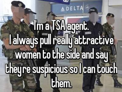 'جب میں کوئی خوبصورت خاتون مسافر دیکھتا ہوں تو اسے روک لیتا ہوں اور کہتا ہوں کہ۔۔۔' ائیرپورٹ سکیورٹی میں کام کرنے والے اہلکار نے ایسا راز بتادیا کہ جان کر آپ کا بھی منہ کھلا کا کھلا رہ جائے گا
