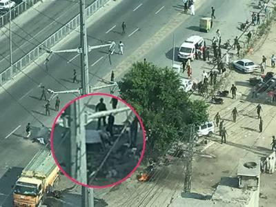 ارفع ٹاور کے قریب دھماکہ کی اصل وجہ سامنے آگئی