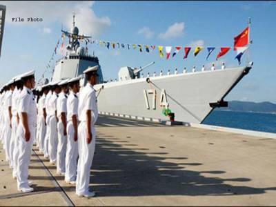 چینی روسی مشترکہ فوجی مشقیں بحیرہ بالٹک میں شروع ہو گئیں