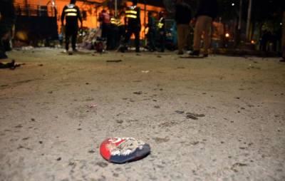 لاہور دھماکہ ، شہید پولیس اہلکاروں کی نمازہ جنازہ ادا کر دی گئی ، وزیر اعلیٰ پنجاب کی شرکت