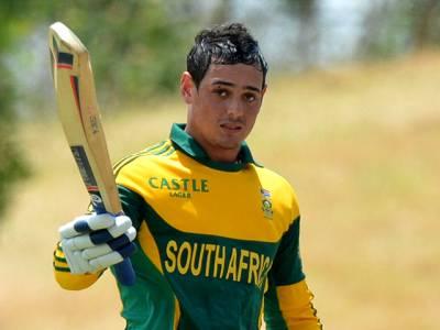 جنوبی افریقی بلے باز کوینٹن ڈی کوک پی ایس ایل 3 میں حصہ لیں گے، یہ کس ٹیم کی جانب سے کھیلیں گے؟ نام جان کر پاکستانیوں کی خوشی کا ٹھکانہ ہی نہ رہا