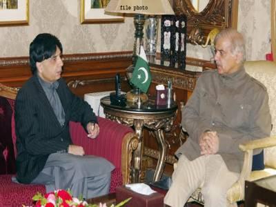 شہباز شریف وفاقی وزراءکے ہمراہ چوہدری نثار کو منانے کے لیے پنجاب ہاوس پہنچ گئے