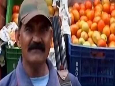 بھارت میں ٹماٹر کی قیمت اتنی زیادہ ہو گئی کہ اسے ایک ریاست سے دوسری جگہ لے جانے کے لیے مسلح گارڈز تعینات کردئیے گئے ،ایسی خبر آگئی کہ آپ بھی اپنی ہنسی پر قابو نہ رکھ پائیں گے
