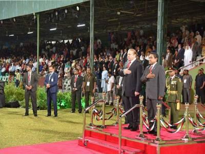 وزیر اعظم پاکستان کی مالدیپ کے یوم آزادی کی تقریب میں شرکت، مہمان خصوصی کا پرتپاک استقبال کیا گیا