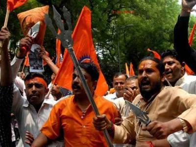 بھارتی ریاست ہریانہ میں ہندوانتہا پسندوں کی مسلمانوں کو زندہ جلانے کی دھمکی