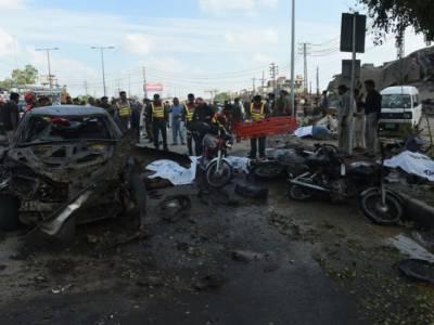 ارفع کریم ٹاور کے قریب دھماکہ طالبان سپیشل گروپ نے کیا: پولیس