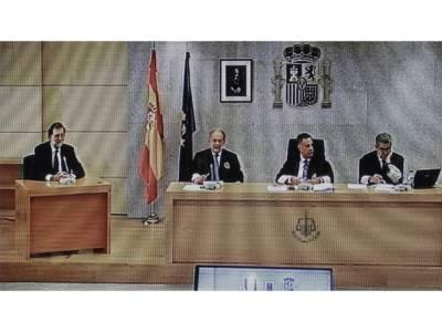 کرپشن الزامات،سپین کے صدر ماری آنو راخوئی عدالت میں پیش،جمہوریت کو کوئی خطرہ لاحق نہیں ہوا