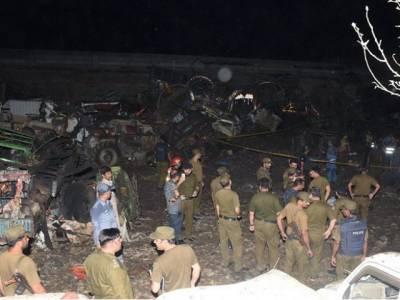 لاہور دھماکے میں استعمال ہونے والا ٹرک کہیں اور تخریب کاری کے لئے استعمال ہونا تھا: سی ٹی ڈی