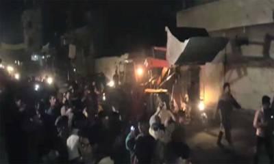 لاہور دھماکہ ،ٹرک ڈرائیور کی شناخت کر لی گئی ،فرار ہونے میں کامیاب تلاش جاری :اے آر وائے نیوز