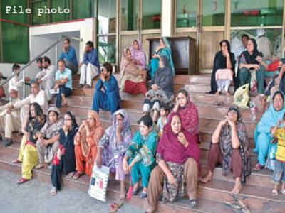 ینگ ڈاکٹرز کی ہڑتال آٹھویں روز بھی جاری،مریض دربدر کی ٹھوکریں کھانے پر مجبور