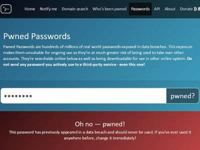 کیا آپ کا پاس ورڈ محفوظ ہے یا کوئی چوری کرچکا ہے؟ اس ویب سائٹ کے ذریعے باآسانی پتہ لگاسکتے ہیں، جانئے او محفوظ رہیے
