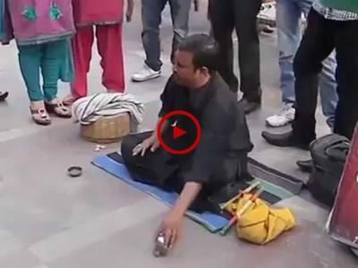 یہ جادو ہے یا ہاتھ کی صفائی۔ ویڈیو دیکھ کر فیصلہ کریں۔ ویڈیو: محمد قاسم۔ لاہور