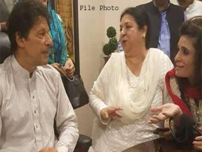 یاسمین راشد کی عمران خان سے ملاقات، این اے 120کی انتخابی مہم پر صلاح مشورے