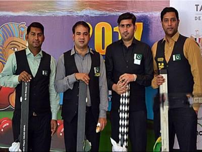 پاکستان نے ورلڈ ٹیم سنوکر چیمپئن شب جیت لی