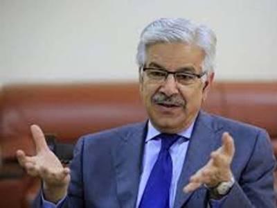 کوئی مائی کا لال ہے جو پرویز مشرف پر ہاتھ ڈال سکے ؟ خواجہ آصف