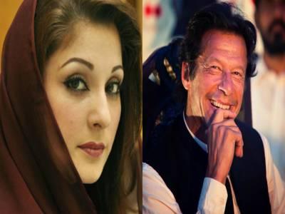 عمران خان اور مریم نوازکے درمیان ٹوئٹر پر لفظی جنگ چھڑ گئی