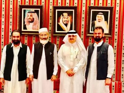 سراج الحق کی سعودی سفیر سے ملاقات ،نواف بن سعید المالکی کو ذمہ داریاں سنبھالنے پر مبارکباد