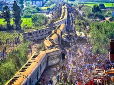 مصر میں ریل گاڑیوں میں تصادم36افراد ہلاک،100سے زائد زخمی