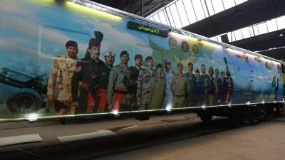 آزادی ٹرین میں آئی ایس پی آرکا فلوٹ تیار،ٹرین کا آغاز آج سے ہو رہا ہے