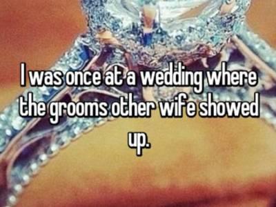 'میں اس دن ایک شادی پر گیا تھا، دولہا دلہن سٹیج پر پہنچے تھے کہ اچانک ایک لڑکی ہال میں داخل ہوئی اور ہر جانب افراتفری پھیل گئی کیونکہ۔۔۔'